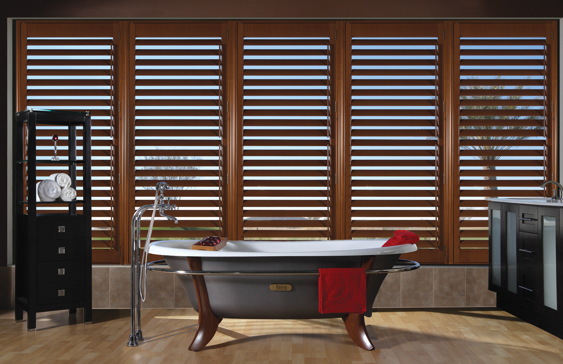 fauxwood california faux blinds wood